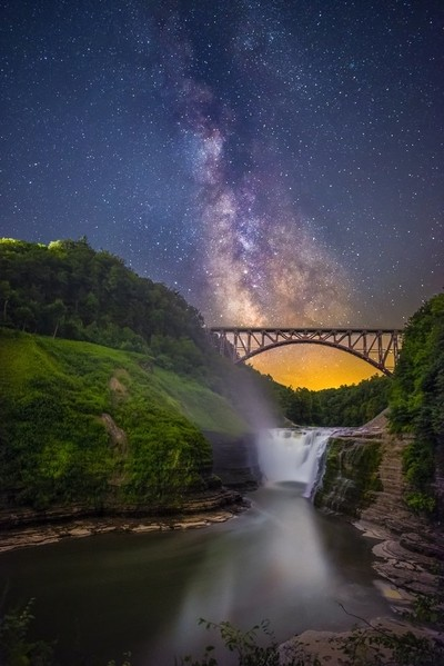 Letchworth And The Milky Way