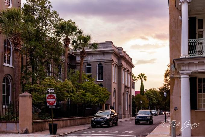 the interesting looks and history when you walk about in Charleston, SC