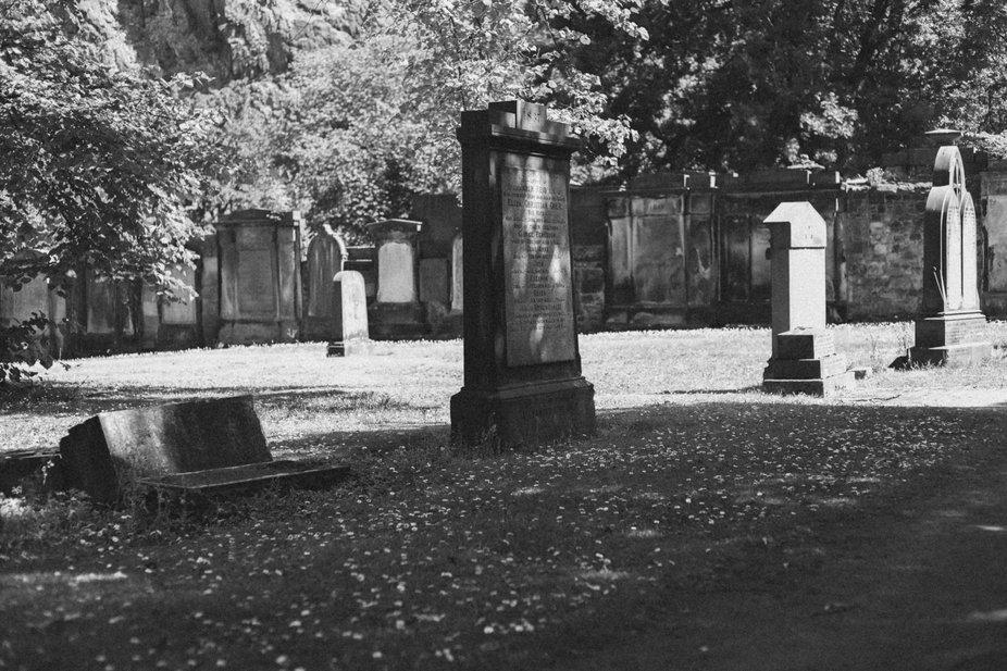 Cemetery in Scotland