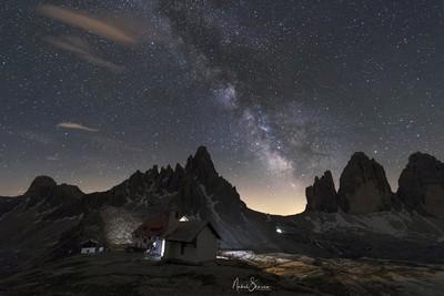 Under the stars - dolomites