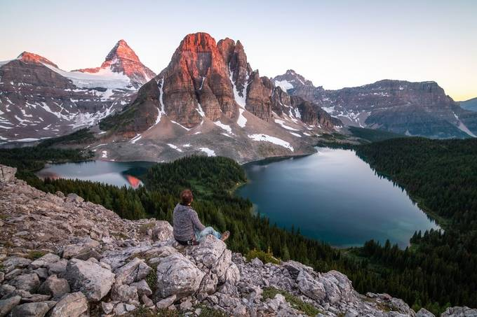 Mount Assiniboine by hasmonaut - Monthly Pro Photo Contest Vol 45