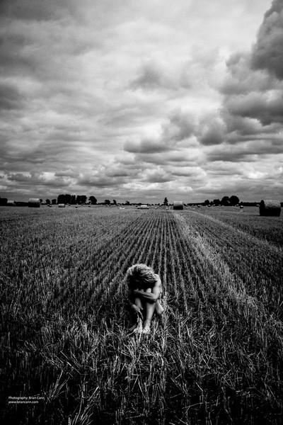 In a field in Mecklenburg-Vorpommern