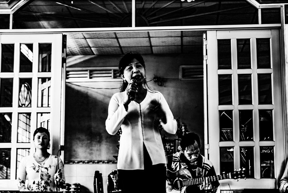 A local singer.