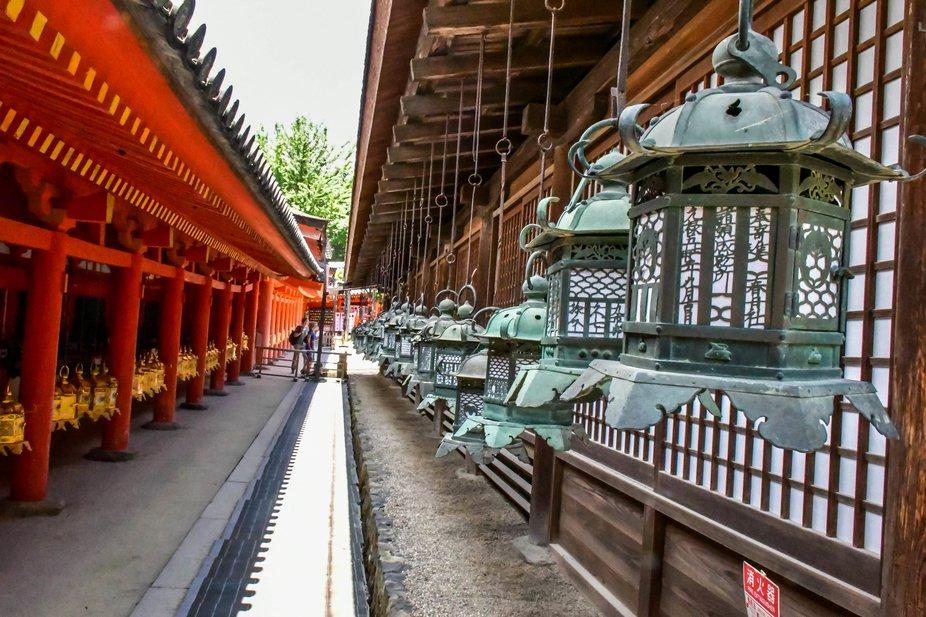 Templo NARA 3 Lanternas  JAPÃO