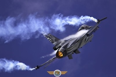 Vador force F-16 Solo Display Belgian Air Force