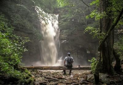 Hidden Creek Falls.