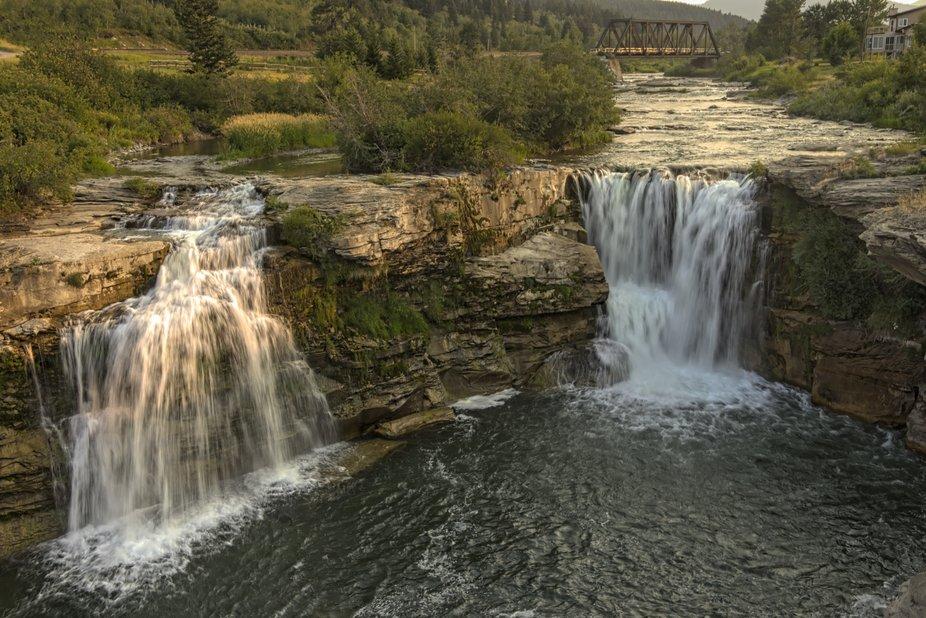 Lundbreck Falls, Crowsnest Pass, Alberta