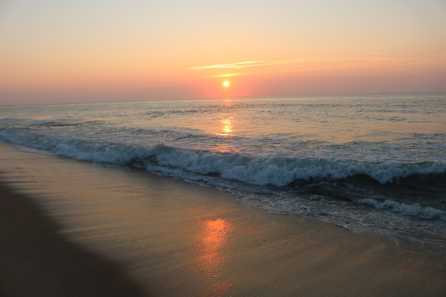 Took this sunrise in Ocean City Maryland
