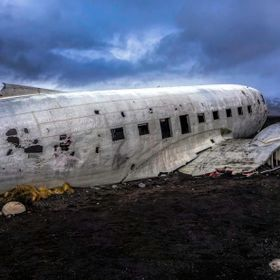 It's one of Iceland's most iconic & haunting photography locations. On Saturday Nov 24, 1973, a United States Navy Douglas Super DC-3 air...