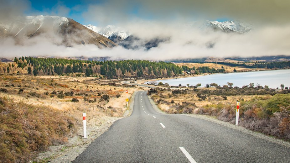 Every corner on the road to the Ohau ski fields brings another amazing view...