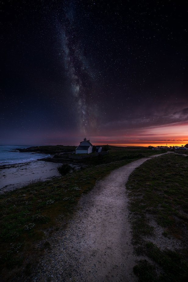 composing-quiberon-milkyway by sylvainmorizot - Night Wonders Photo Contest
