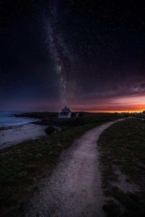 composing-quiberon-milkyway by sylvainmorizot - Night Wonders Photo Contest