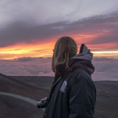 Literally the highest summit in the world with temperatures at around thirty five to forty degrees. Enjoy the sunset!