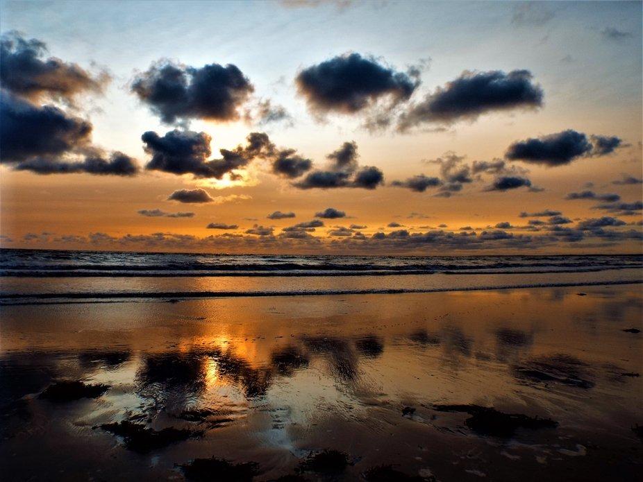 Multi Clouds reflecting sunrise 0817