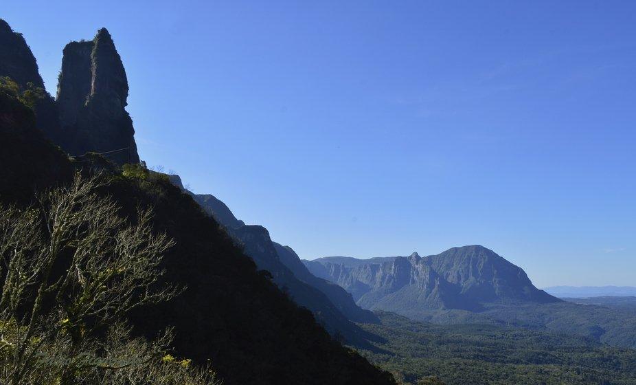 Serra do Corvo Branco SC. Brasil sul.