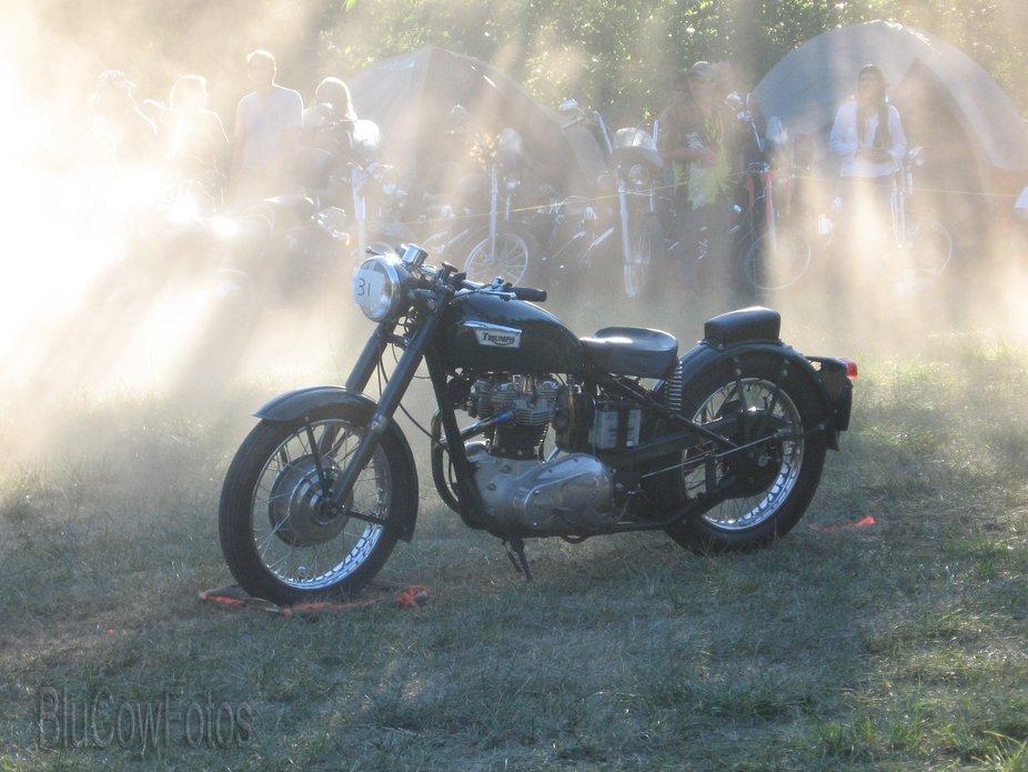 It was a spontaneous trip to a bike rally in Salmon Arm B.C. I went with my automotive mechanic j...