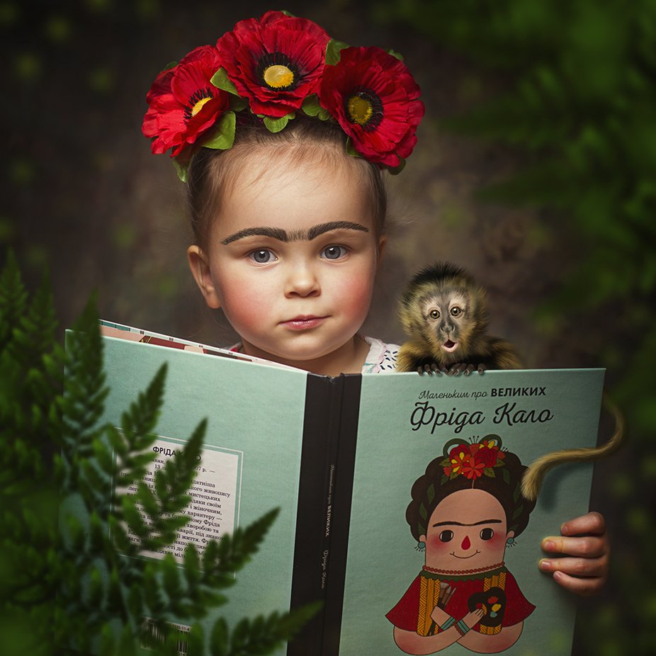 Tribute to Frida by olgakuznyetsova - Creative Reality Photo Contest