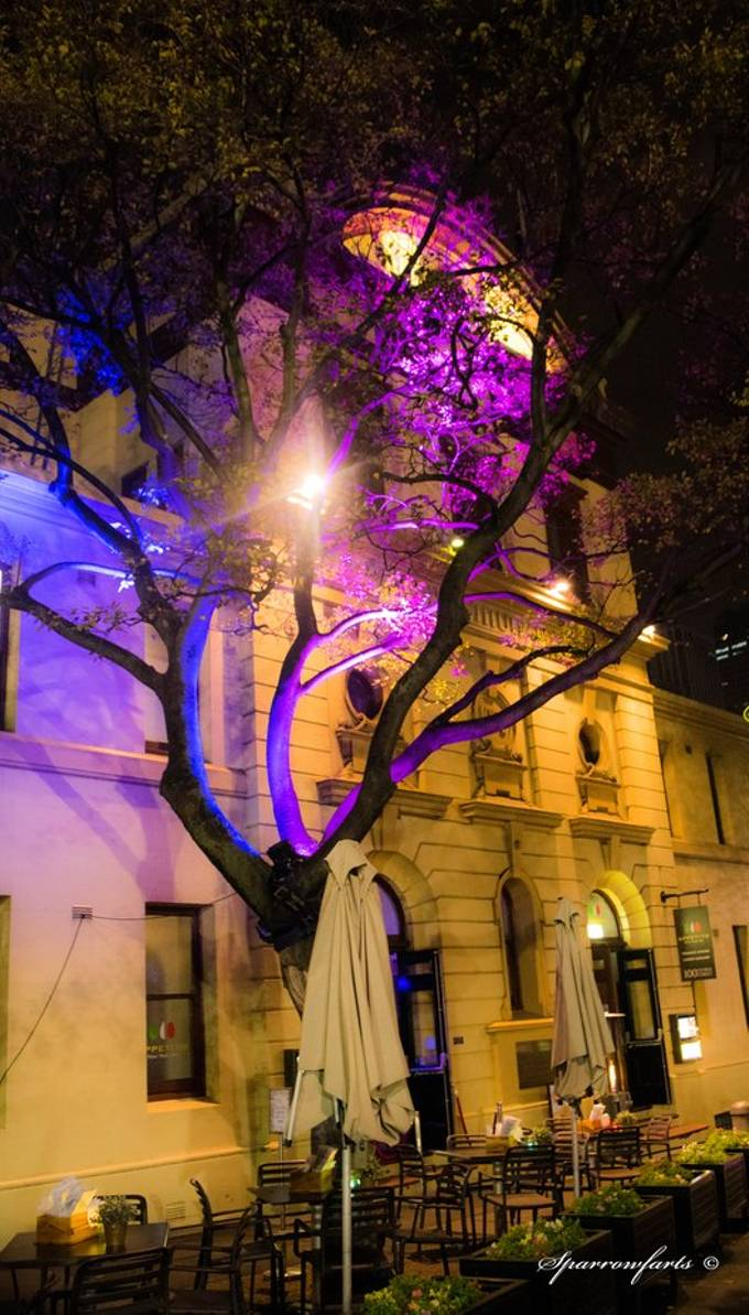 The Rocks - Vivid Sydney 2018