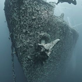 SS Thistlegorm sunk by German bomber planes in World War Two, lies at the bottom of the sea since 1941. She locate in the Straits of Gubal, North...