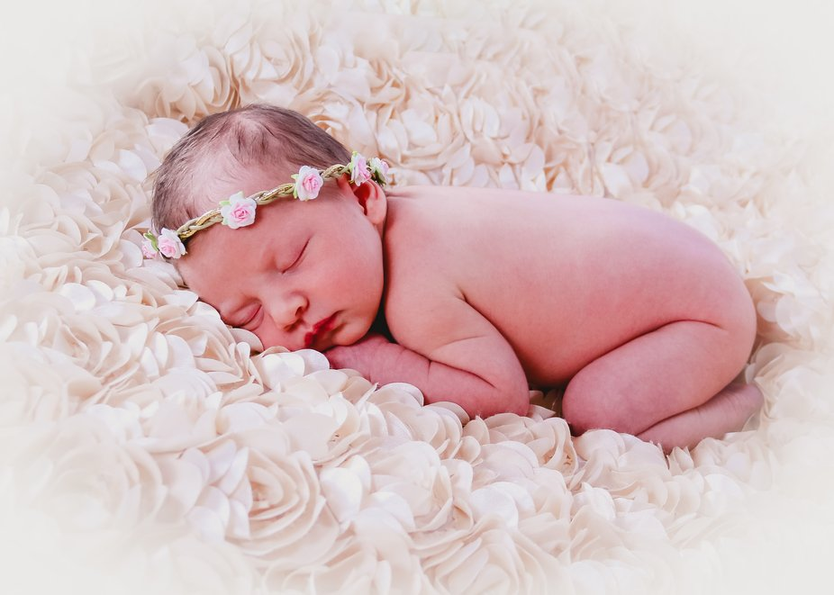 Special newborn shoot with my new niece