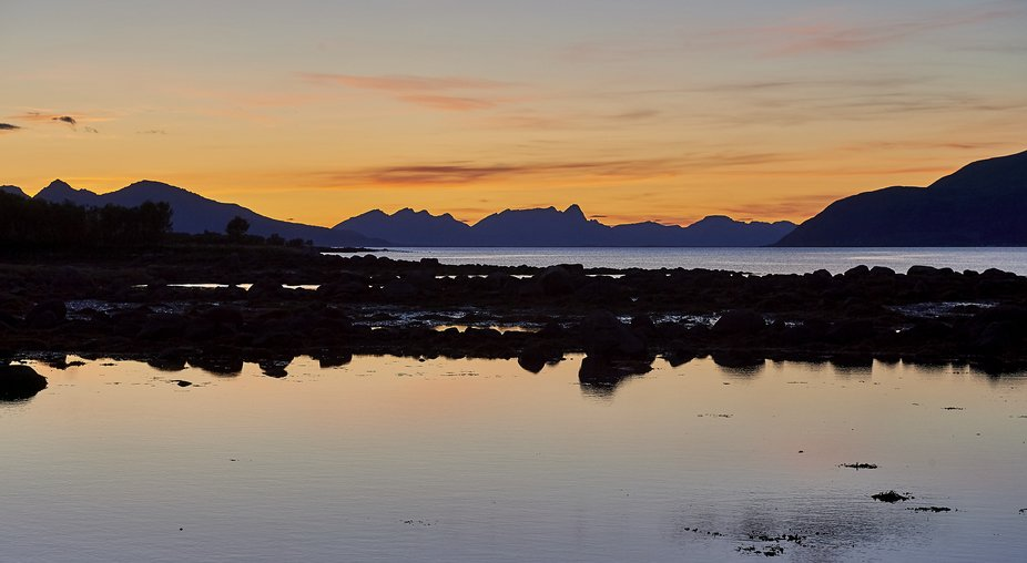 On the way to Andenes in Vesterålen in Norway.