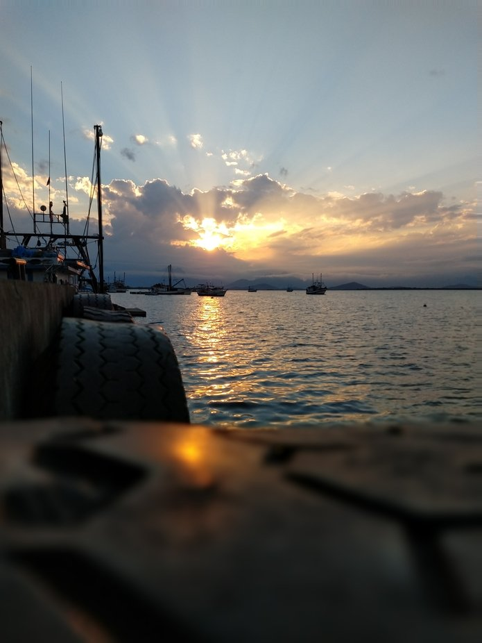 Sunset dosTerra dos Caiçaras
