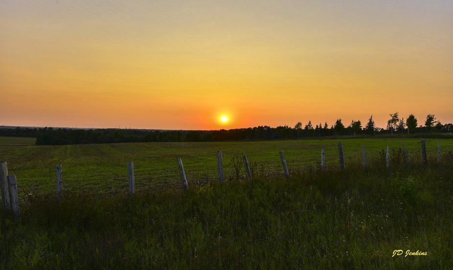 Mulock Road Sunset