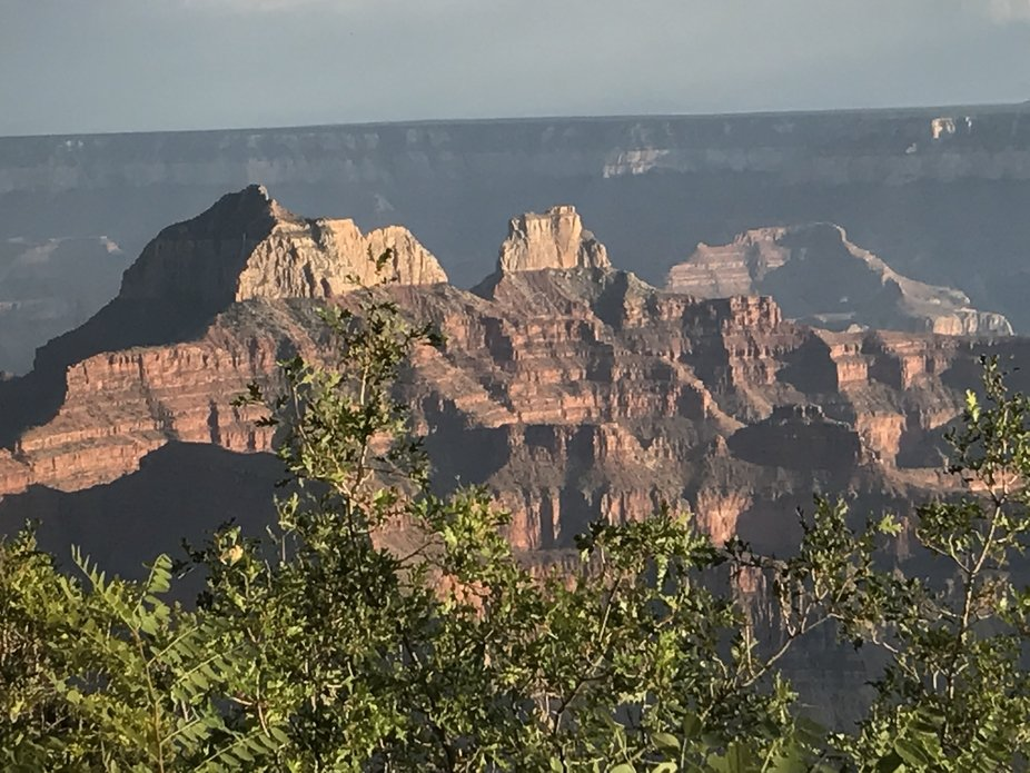 Photo taken from the Grand Canyon Lodge