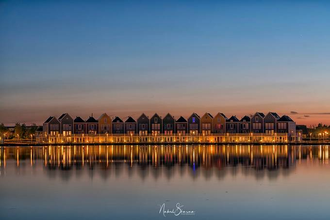 houten sunset by nakul - Bright City Lights Photo Contest