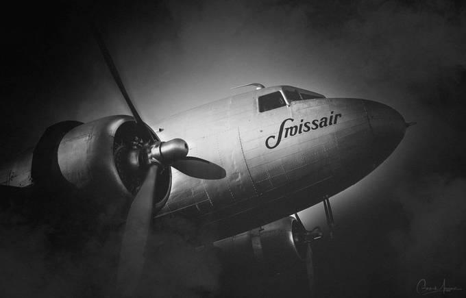 Douglas DC-3 by DaGeo - Monochrome Visions Photo Contest