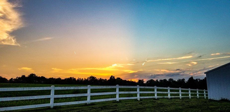BLUEGRASS sunset