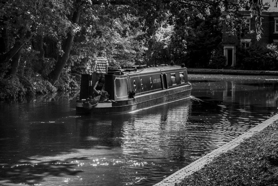From a walk along a Birmingham Canal