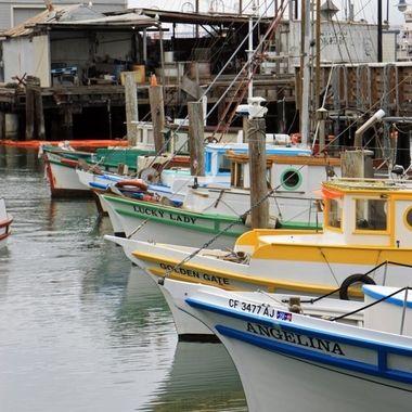 SF Wharf Boats 1