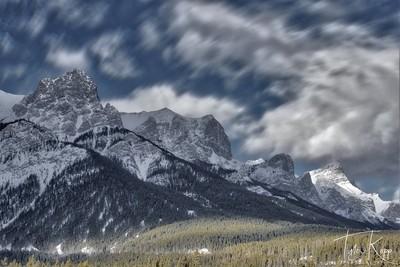 Quarry Lake Mountain Range
