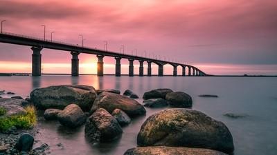 Bridge to Öland- Sweden