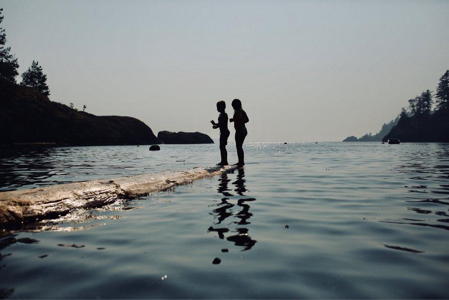 Summer in beautiful Bowen Island BC