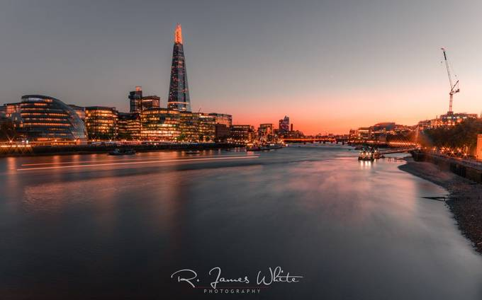 "London Skyline ""Shard"" by RJamesWhite - Bright City Lights Photo Contest"