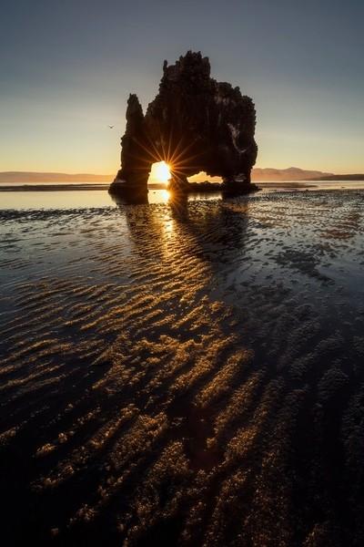 Hvitserkur sunrise