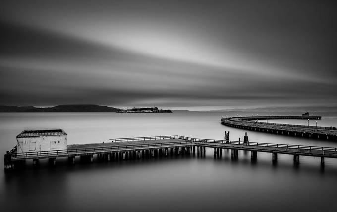 Somewhere in San Francisco, CA by joserenegarcia - Our World In Black And White Photo Contest