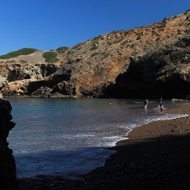 Cueva Valdez is located on Santa Cruz Island, which is part of  Channel Island National Park