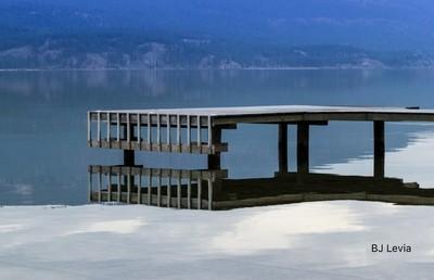 Lake Okanagan dock