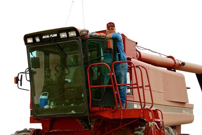 My father-in-law is a wheat farmer in Montana.  I went up there a time or two to help with harvest.  It definitely gives one a true perspective of the life of a farmer.