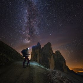 Dolomiti In the night
