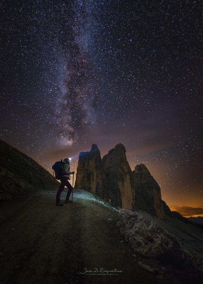 Dolomiti In the night by JoseDRiquelme - Night Wonders Photo Contest