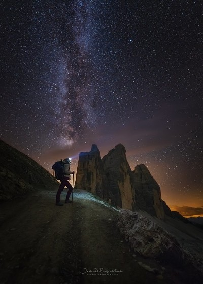Dolomiti In the night