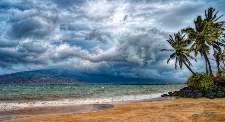 Kihei Maui After the Storm. Hurricane Lane could have been fierce and devastating but Pele the G...