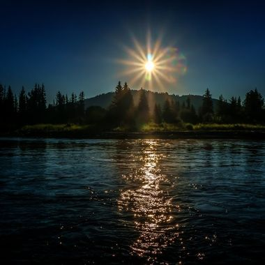 Early Morning on the Snake River