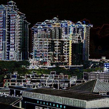 Kuching Cityscape
