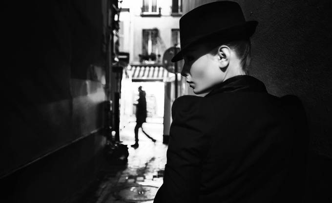 In the hat by WWWest - Our World In Black And White Photo Contest