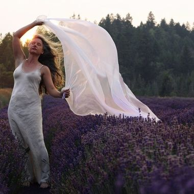 Catching the Lavender Scented Wind